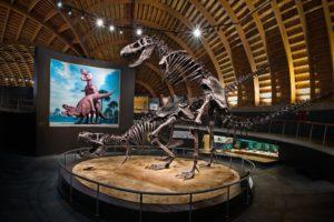T-Rex Museo del Jurásico de Asturias
