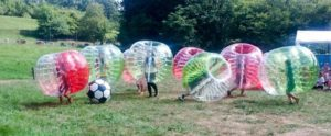 Bubble Soccer en Asturias - Foto: Aventura Norte