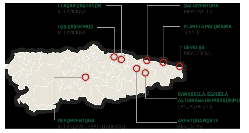 Empresas turismo activo asturias