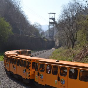 Tren Minero - Eco Museo Minero de Samuño - Semana Verde Asturias